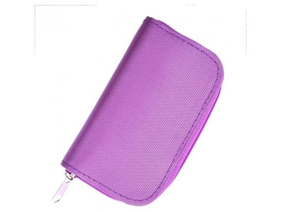 Чехол для карт памяти Visico Case Wallet MC-SD18CF4 violet