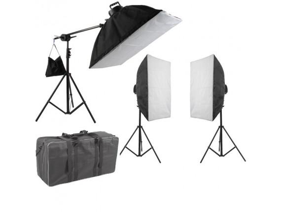 Набор постоянного света Visico FL-307 (50x70см) Triple Kit