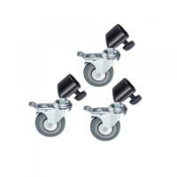 Колёса для стоек и журавлей Visico M11-036A (22-25мм)