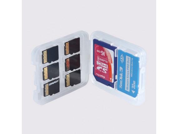 Футляр для карт памяти Visico MC-SD1MS1MSD6