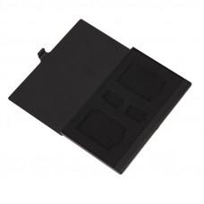 Кейс для карт памяти Visico Metal Case MC-SD2MSD2 black