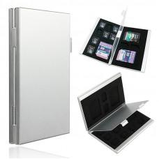 Кейс для карт памяти Visico Metal Case MC-SD3MSD10