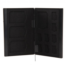 Кейс для карт памяти Visico Metal Case MC-SD4MSD8 black