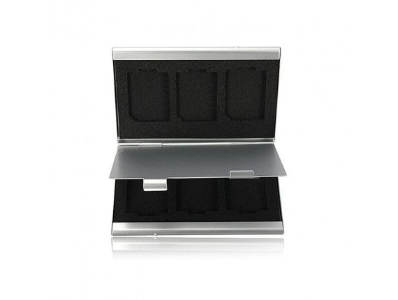 Кейс для карт памяти Visico Metal Case MC-SD6
