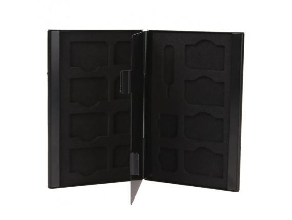 Кейс для сим карт Visico Metal Case SC-S8MS6 black