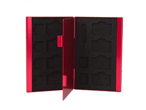 Кейс для сим карт Visico Metal Case SC-S8MS6 red