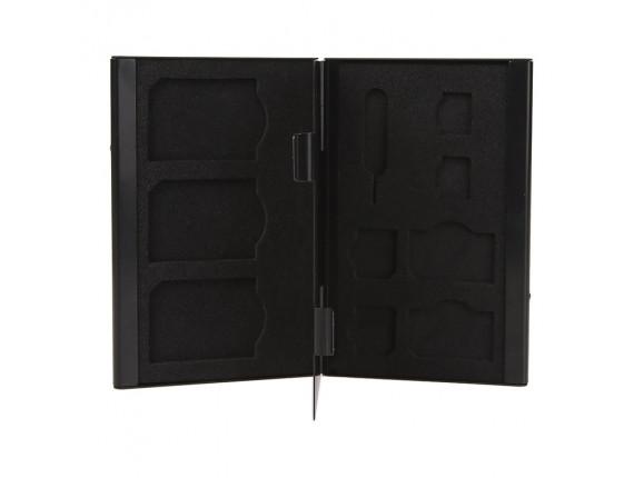 Кейс для сим карт Visico Metal Case SC-SD3S2MS2NS2 black