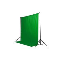 Фон студийный тканевый Visico PBM-1827 green Chroma Key 1,8х2,7м