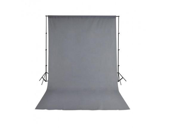 Фон студийный тканевый Visico PBM-3060 grey 3х6м