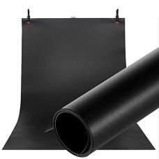 Фон для съёмки Visico PVC-7013 Black (70x130см)