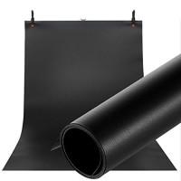 Фон для съёмки Visico PVC-1020 Black (100x200см)