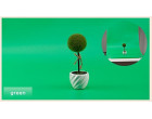 Фон для съёмки Visico PVC-7013 Green (70x130см)