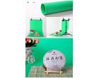 Фон для съёмки Visico PVC-1020 Green (100x200см)