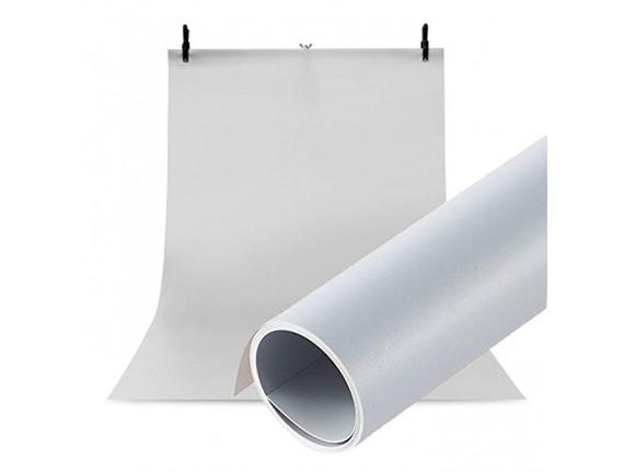 Фон для съёмки Visico PVC-1020 Grey (100x200см)