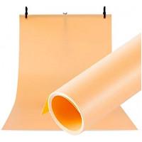 Фон для съёмки Visico PVC-7013 Orange (70x130см)