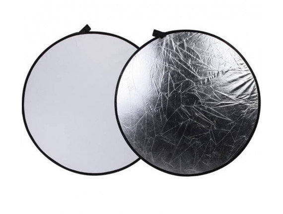 Отражатель Visico RD-019 2 в 1 white/silver (56см)