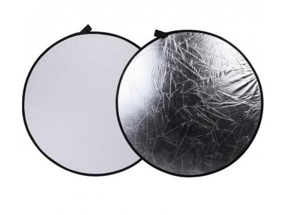 Отражатель Visico RD-019 2 в 1 white/silver (80см)