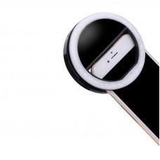 Кольцевой свет для селфи Visico RK-10 Selfie Ring Light black