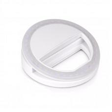 Кольцевой свет для селфи Visico RK-10 Selfie Ring Light white