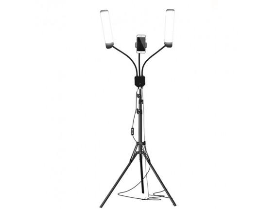 Свет для блогеров со стойкой Visico RK-39LS (60W)