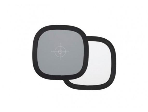 Экспозиционная панель Visico TR-055 grey/white (30см)