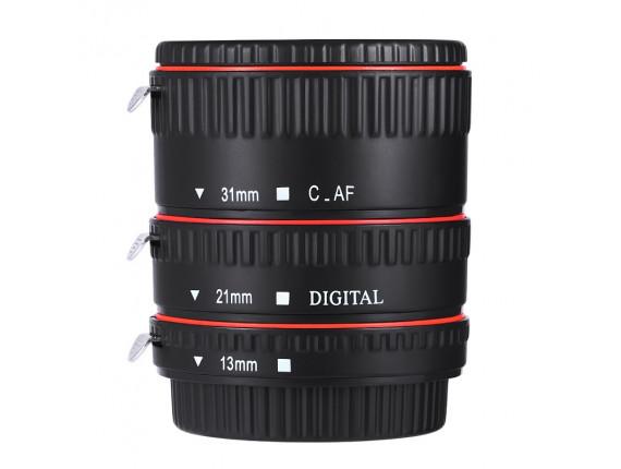 Макрокольца автофокусные Visico TTL Macro for Canon (Plastic)