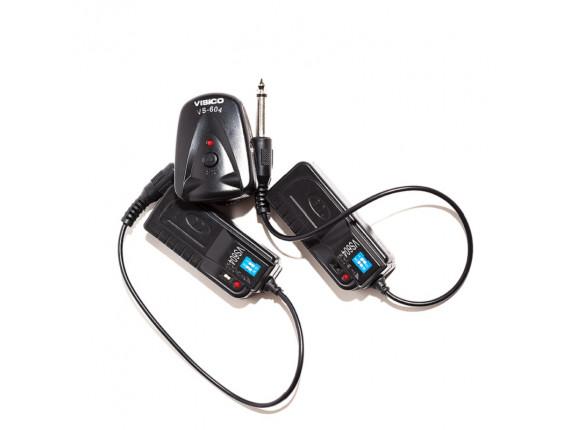 Радиосинхронизатор Visico VS-604-DC Double Kit (1+2)