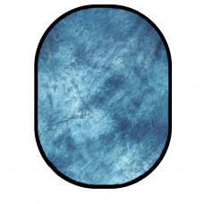Фон в пружинной рамке Visico BP-028 W-069 (серо-синий в разводах) 150x200см