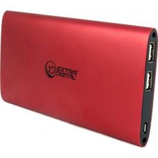 Внешний аккумулятор Extradigital YN-034L 10000mAч, Red (PBU3418)