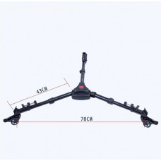 Колёса для штатива или стойки Yunteng YT-900 Tripod Dolly