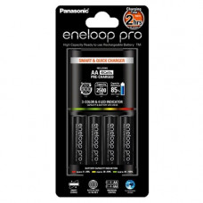 Зарядное устройство Panasonic Eneloop BQ-CC55E Smart-Quick Charger + 4 AA 2500 (K-KJ55HCD40E)
