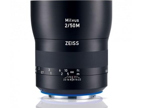 Объектив Zeiss Milvus 50mm f/2M ZE (Canon EF)